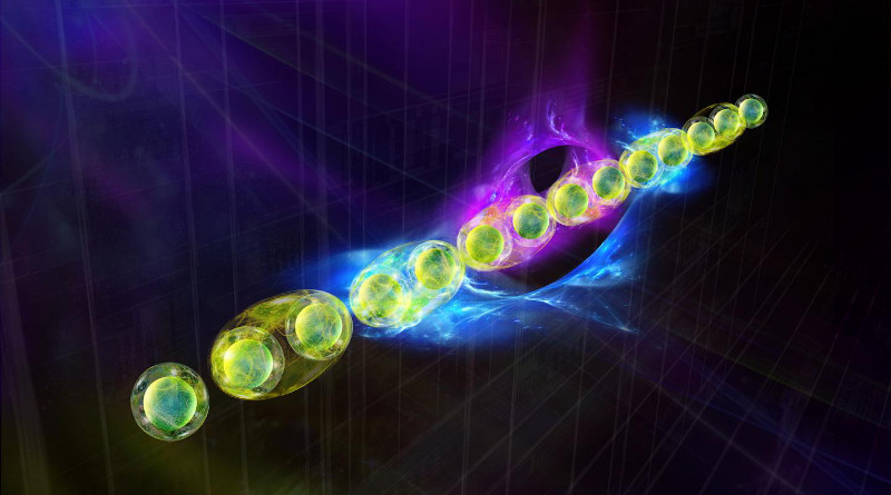 A particularly fascinating class of quantum states are topological states of matter. CREDIT IQOQI Innsbruck/Harald Ritsch