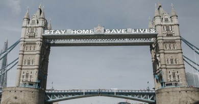 London Bridge Stay Home Pandemic Coronavirus