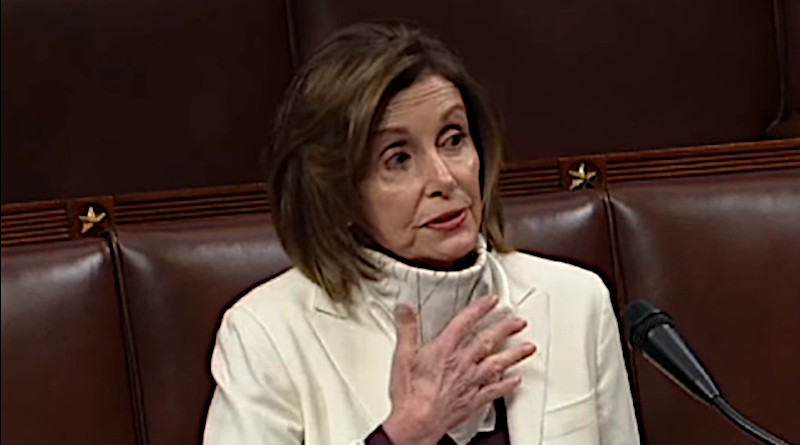 Democratic House Speaker Nancy Pelosi. Photo Credit: House Speaker video screenshot