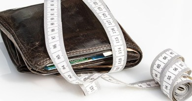 Debt Wallet Tape Measure Economical Levy Save Tighten
