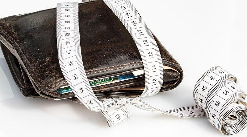 Debt Wallet Tape Measure Economical Levy Save Tighten