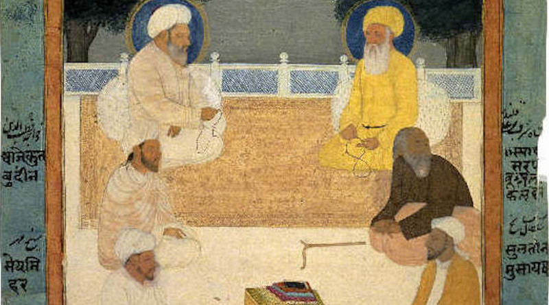 Six Sufi masters, c.1760. Credit: Author unknown, Wikipedia Commons