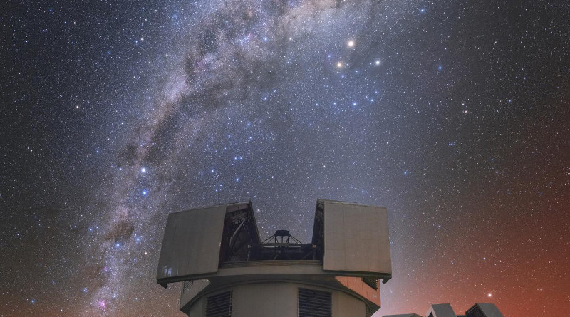 The Magellan telescopes at Carnegie's Las Campanas Observatory in Chile, which were crucial to the ability to conduct this survey. CREDIT Photograph by Yuri Beletsky, courtesy of the Carnegie Institution for Science.