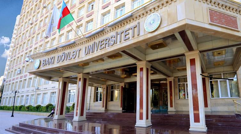 Baku State University in Azerbaijan. Photo Credit: Chanelium, Wikipedia Commons.