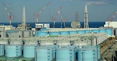Tanks of treated water at the Fukushima Daiichi site (Image: Tokyo Electric Power Company)