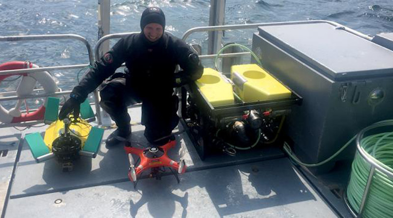 A new field of research is looking at the interaction between fish and robots. Results show that the fish are far more affected by their environment than we have been aware of. CREDIT Maarja Kruusmaa