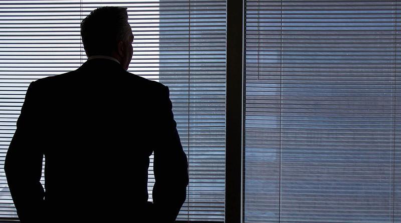 Executive Business Man Business Man Businessman Window