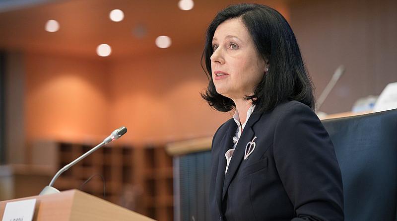 File photo of Věra Jourová. Photo Credit: European Parliament