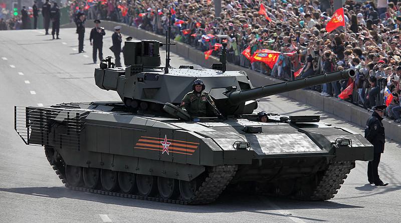 Russian Army T-14 Armata tank. Photo Credit: Vitaly V. Kuzmin, Wikipedia Commons.