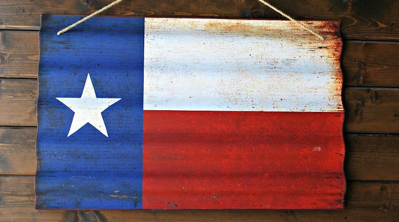 Flag Texas Flag Texas Star State Red Blue White
