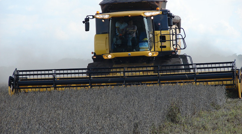 Soybeans Harvester Agricultural Machine