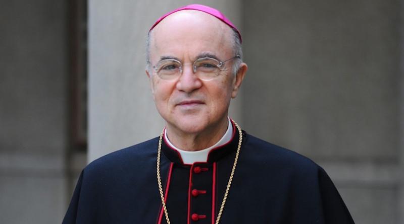 File photo of Archbishop Carlo Vigano