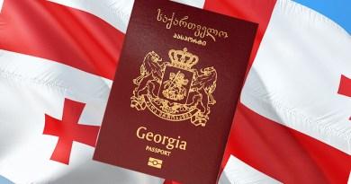 Georgia Flag Passport