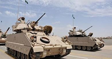 Saudi Arabia Military Army Tanks