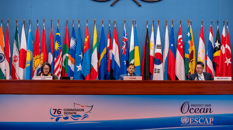 The 76th session of the Economic and Social Commission for Asia and the Pacific. Photo Credit: ESCAP/Suwat Chancharoensuk