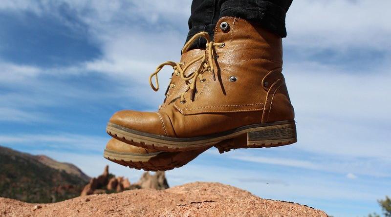 Feet Boots Jump Adventure Fashion Hiking Hipster