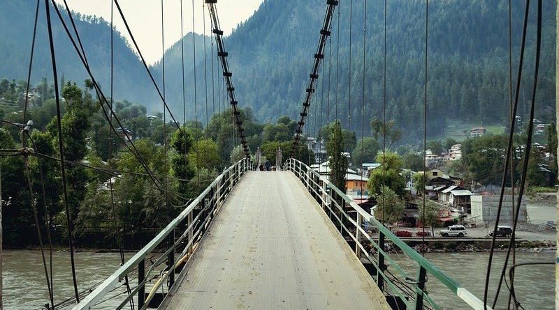 Kashmir Bridge Cable Bridge Structure Suspension