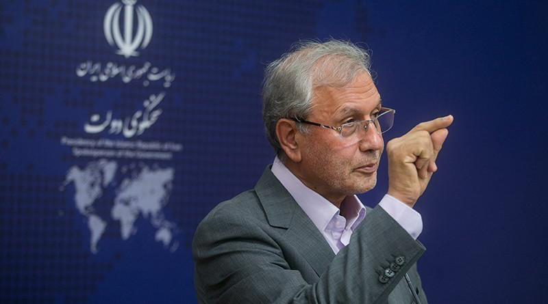 Iranian administration's spokesman Ali Rabiee. Photo Credit: Tasnim News Agency