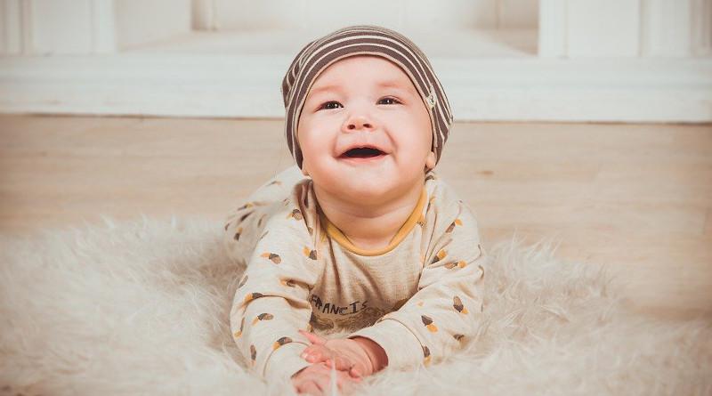 Babe Smile Newborn Small Child Boy Person Smiles