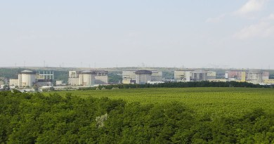 Cernavodă Nuclear Power Plant in Romania. Photo Credit: Zlatko Krastev, Wikipedia Commons