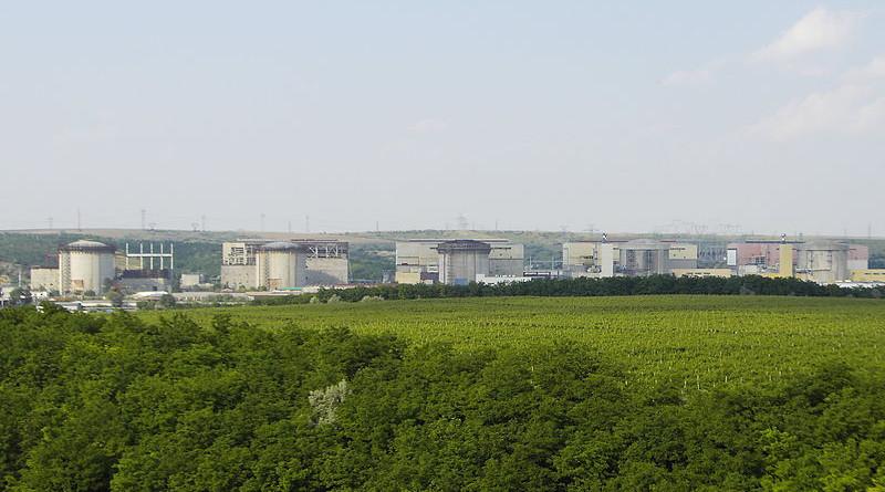 Cernavodă Nuclear Power Plant in Romania. Photo Credit: Zlatko Krastev, Wikipedia Commons