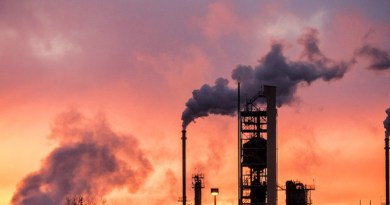 Sunset Refinery Industrial Gas Oil Power