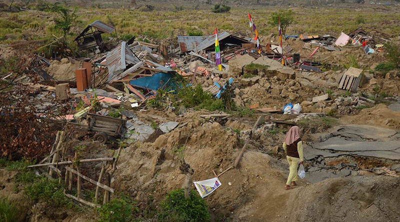 The aftermath of the earthquake and tsunami in the island of Sulawesi. Image credit: Pierre Prakash/EU Civil Protection and Humanitarian Aid/European Union (CC BY-NC-ND 2.0).