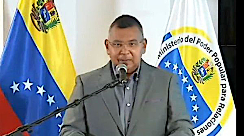 Venezuelan Minister of Interior Nestor Reverol. Photo Credit: Screen Grab Ministry of Interior