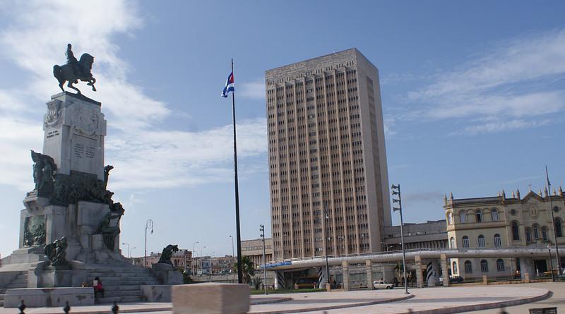 Cuba Hospital Hermanos Ameijeiras Monument Antonio Maceo