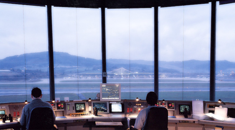 Indra and Microsoft have successfully completed the first phase of the project to locate and operate from Microsoft Azure cloud platform. Airport control tower. Photo Credit: Indra