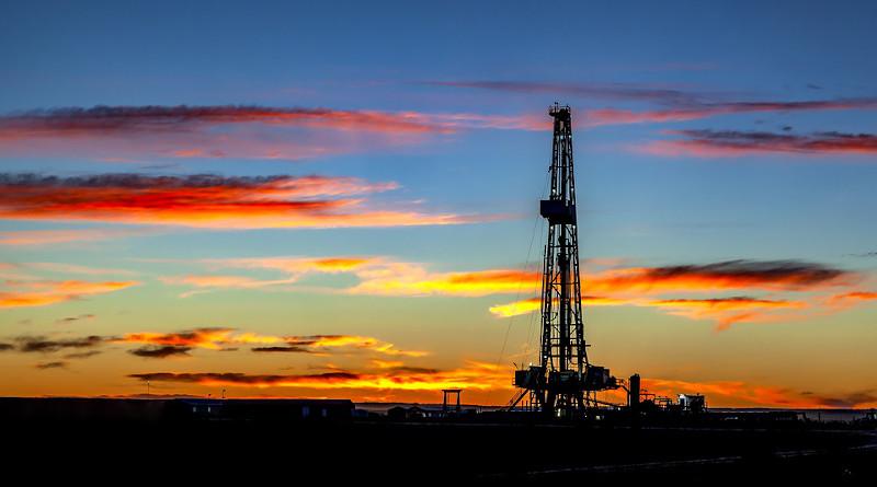 Pumpjack Oil Derrick Rig Drilling Petroleum Industrial
