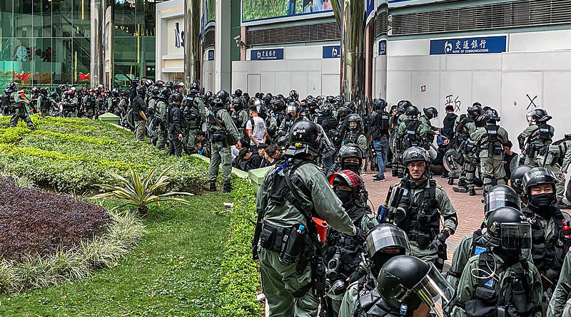Hong Kong police. Photo Credit: Studio Incendo, Wikipedia Commons