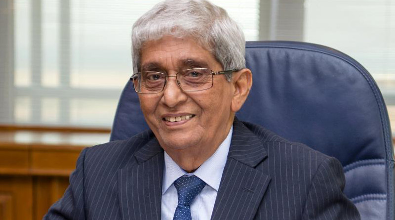 Professor W. D. Lakshman, Governor of the Central Bank of Sri Lanka. Photo Credit: Sri Lanka Central Bank