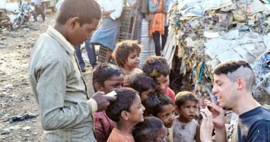 Poor Slums India People Kids Child Place City