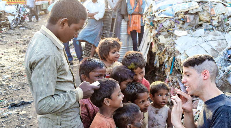 Poor Slums India People Kids Child Place City