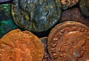 Coins Ancient Roman Money Old Copper Bronze
