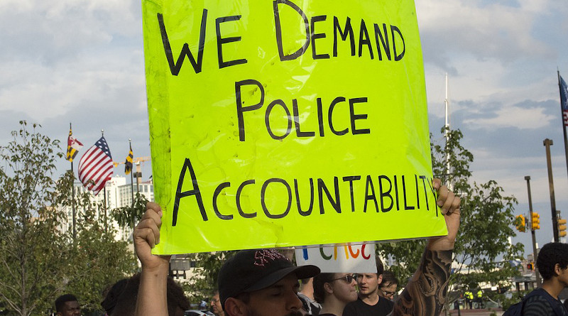 Police Protest Blm Black Lives Matter People