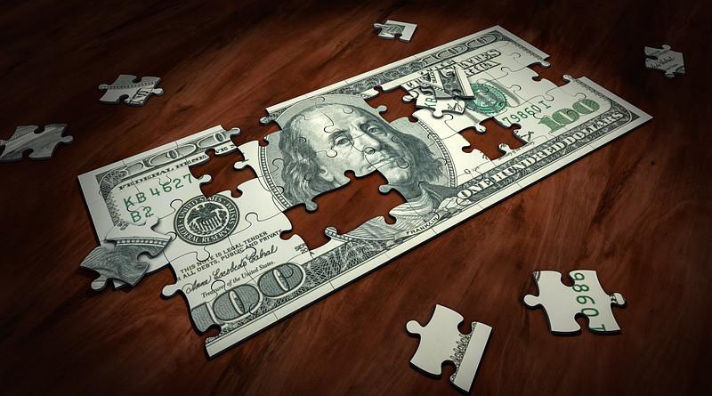 Puzzle Money Business Finance Solution Success Dollar