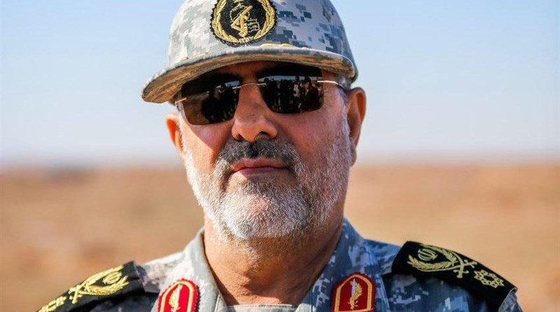 Iran's Brigadier General Mohammad Pakpour, commander of the Islamic Revolution Guards Corps (IRGC) Ground Force. Photo Credit: Tasnim News Agency