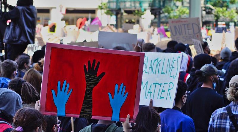 Blm Black Lives Matter Protest Police Protestors