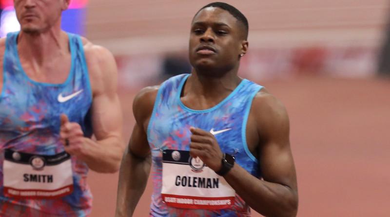 Christian Coleman. Photo Credit: jenaragon94, Wikipedia Commons