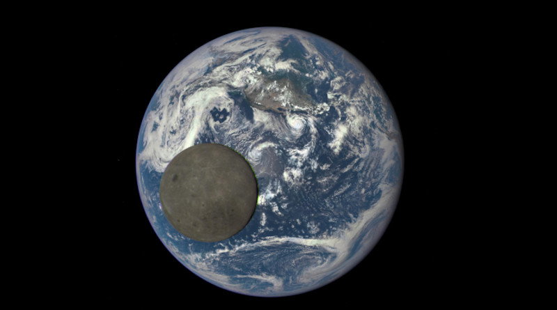 The composition of the Moon's near side is oddly different from that of its far side, and scientists think they finally understand why. CREDIT: NASA/NOAA