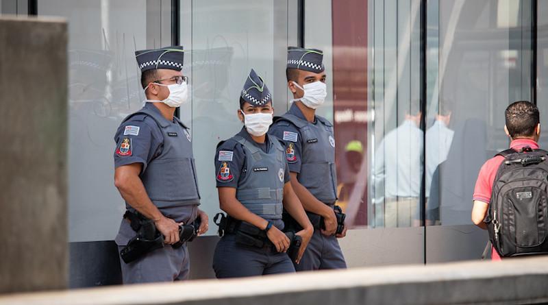 Police Police Officer Mask Covid Coronavirus Covid-19