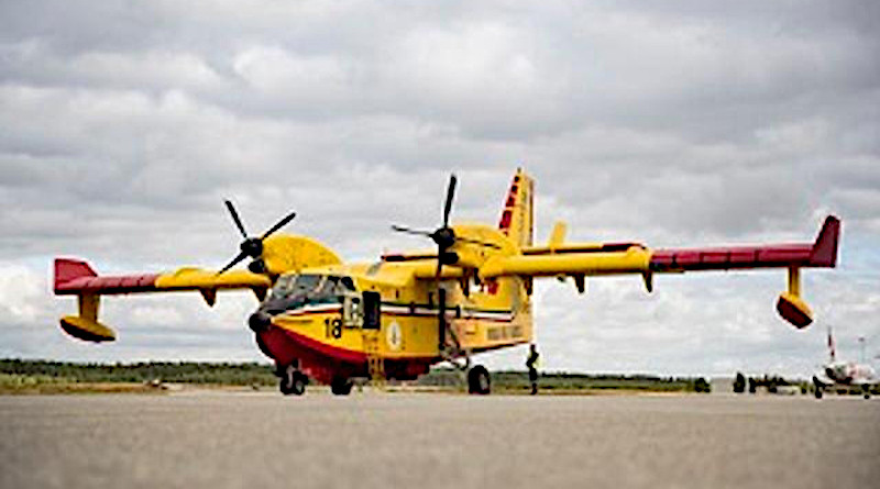 Fire fighter airplane. Photo Credit: Copyright European Commission 2020