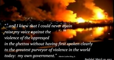 Baghdad Iraq Martin Luther Quote