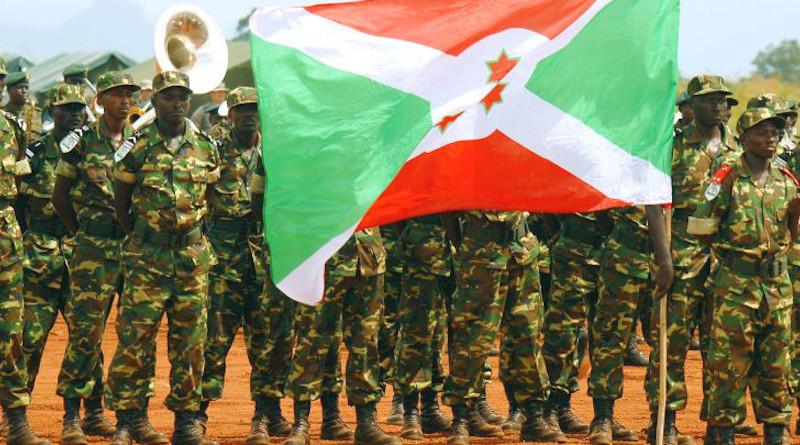 Members of the Burundi military. Photo: US Army Africa