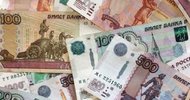 Ruble Money Bills Russia Russian Thousand Rubles