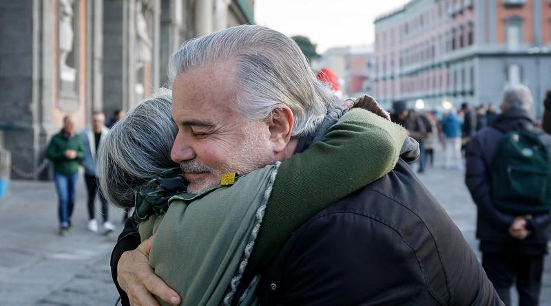 Embrace Hug Solidarity Peace Friendship Love