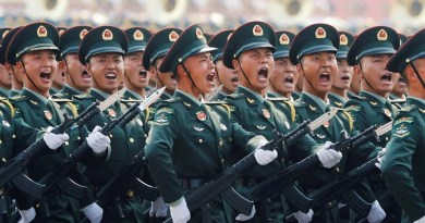 Soldiers in China's Military. Photo Credit: Tasnim News Agency