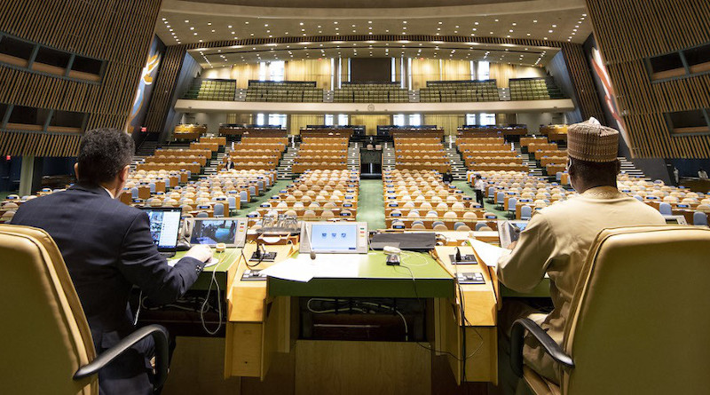 UN General Assembly holds elections for 75th president and Security Council Members. Photo Credit: United Nations